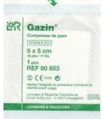 COMPRESSE DE GAZE STERILE 20x20 - Boîte de 100